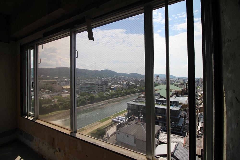 7階:南側から望む鴨川