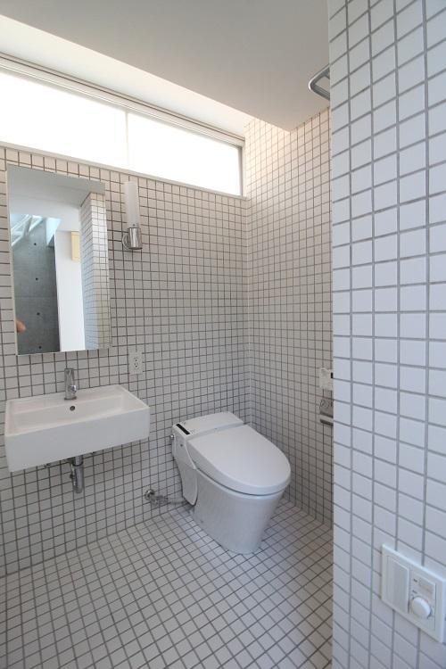 バスルームと同じ空間になります
