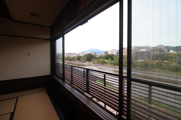 3階、窓からの眺めです