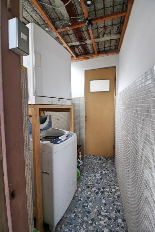 今のところ洗濯機は1箇所