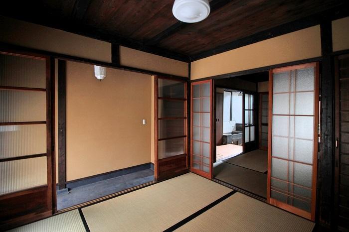 1階は和室が3室連なります