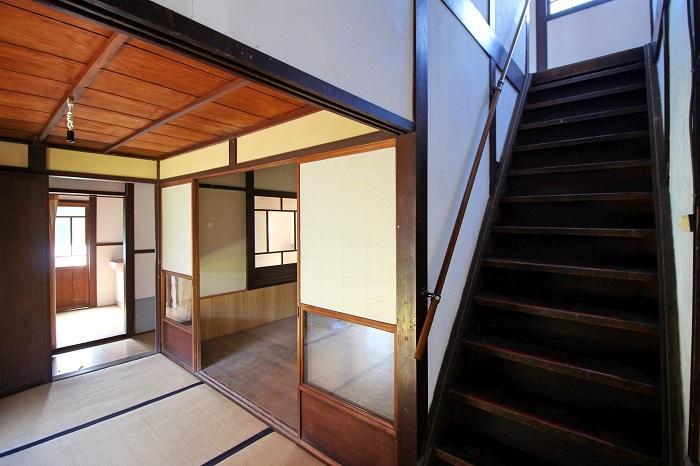 階段はこの他にもう一か所あり周遊できます