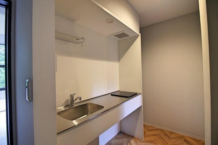 共用キッチンは2,3階