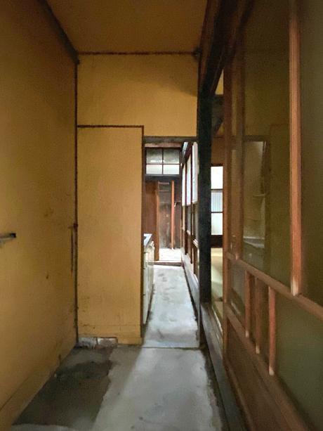 玄関土間です