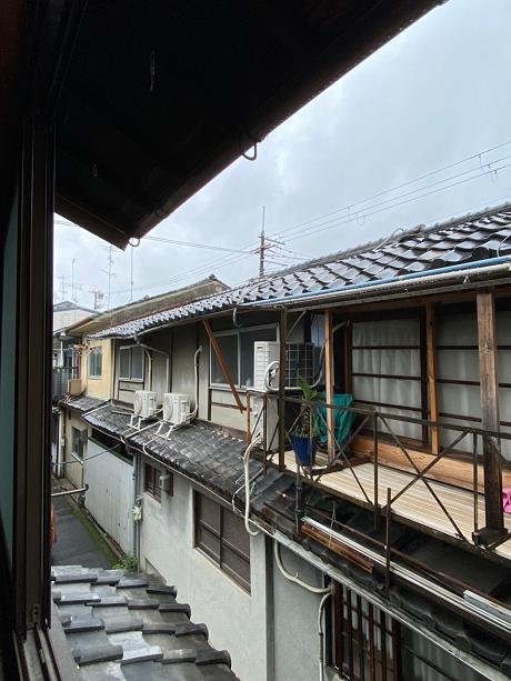 2階窓からの眺めです