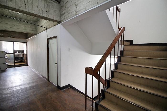 2階も3階も共用部のスタイルはほぼ同じ