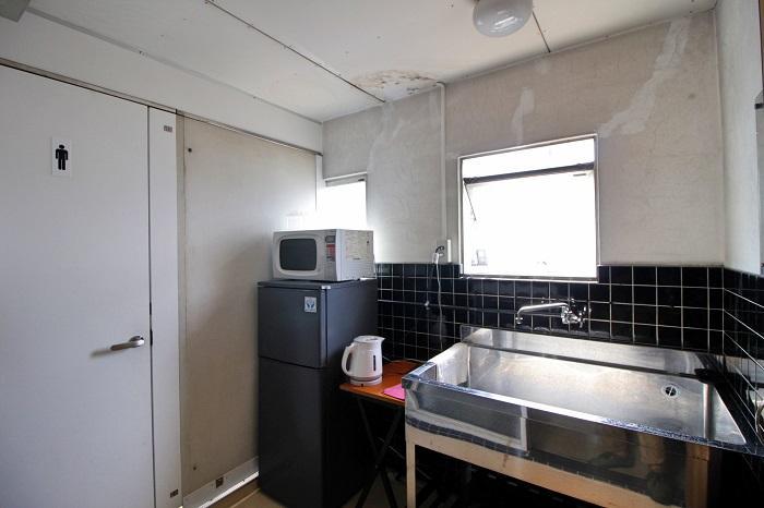 2階と3階にそれぞれキッチンがあります