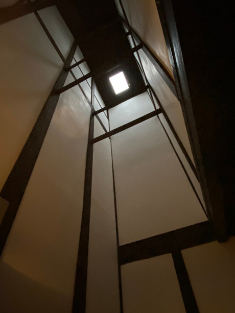 キッチンの天井高いはこんな感じ