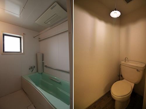 浴室に換気窓あります