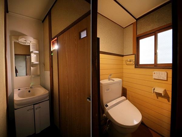 トイレと洗面は綺麗
