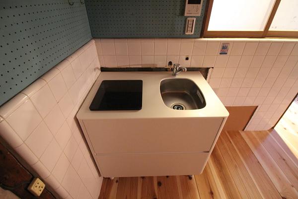 キッチンはこのサイズです