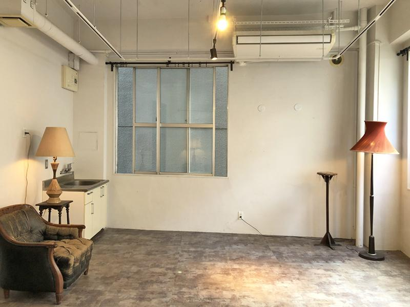 室内写真の家具は撤去予定です