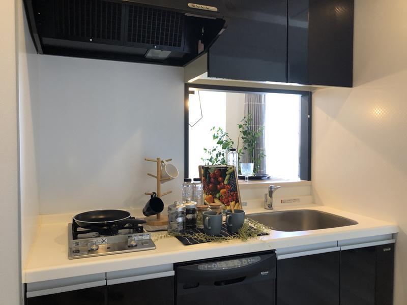 キッチンには、食洗機が備え付き