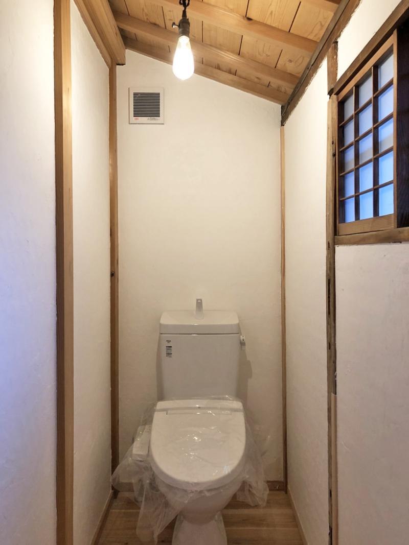 トイレは温水洗浄便座