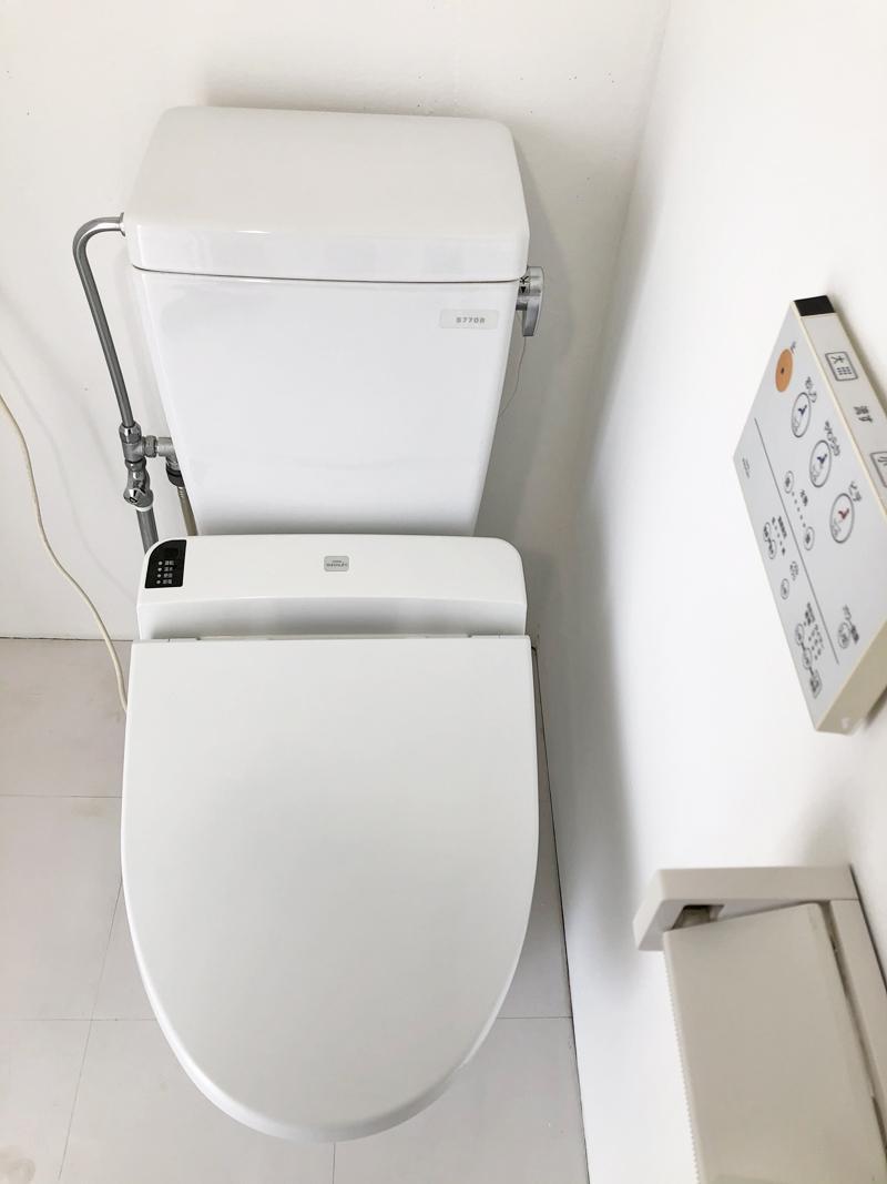温水洗浄付き便座
