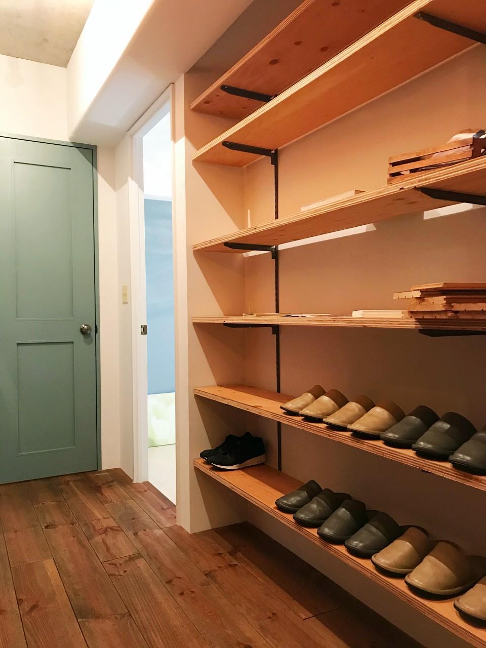 収納力が高い靴棚