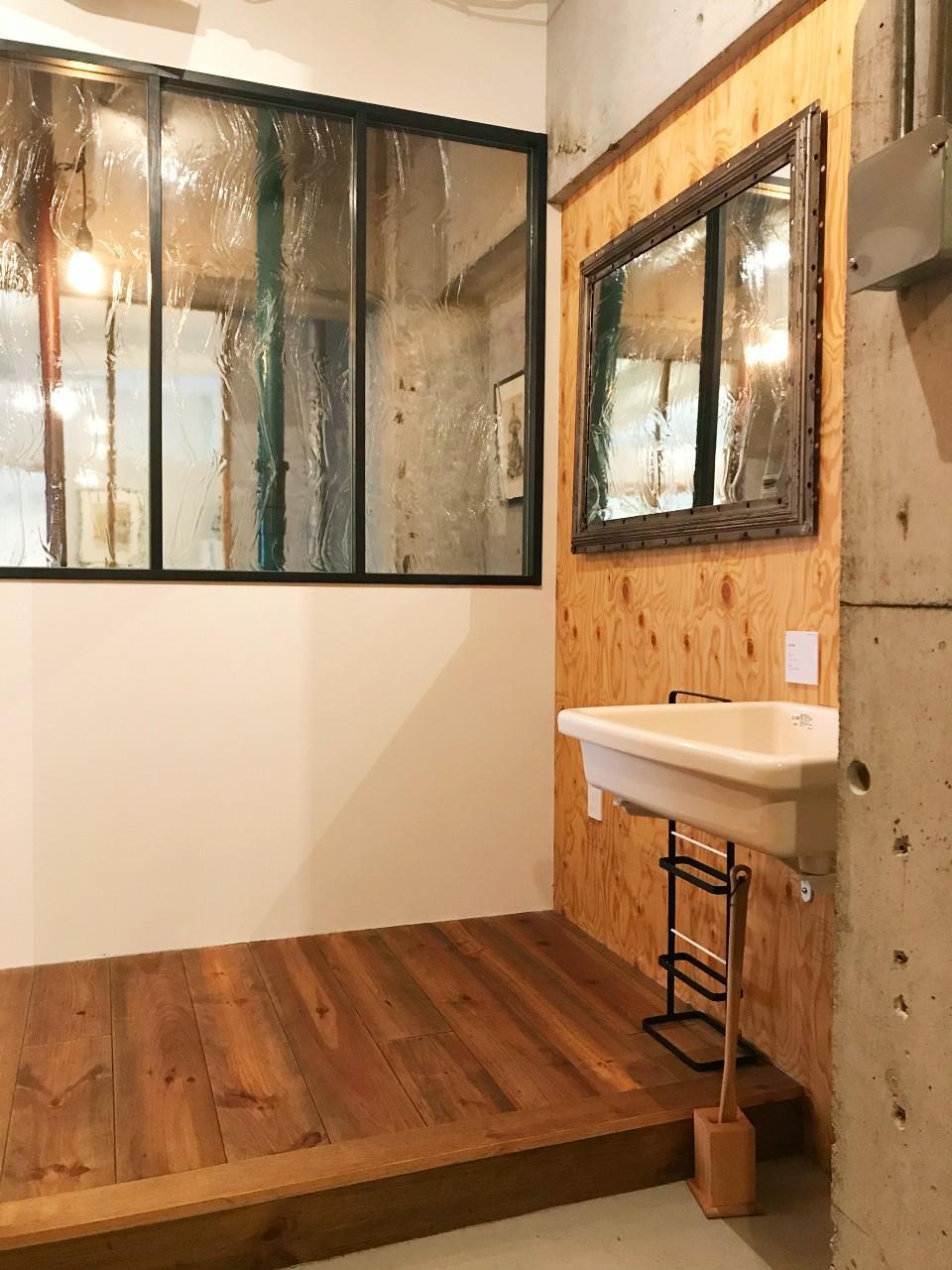洗面のある玄関