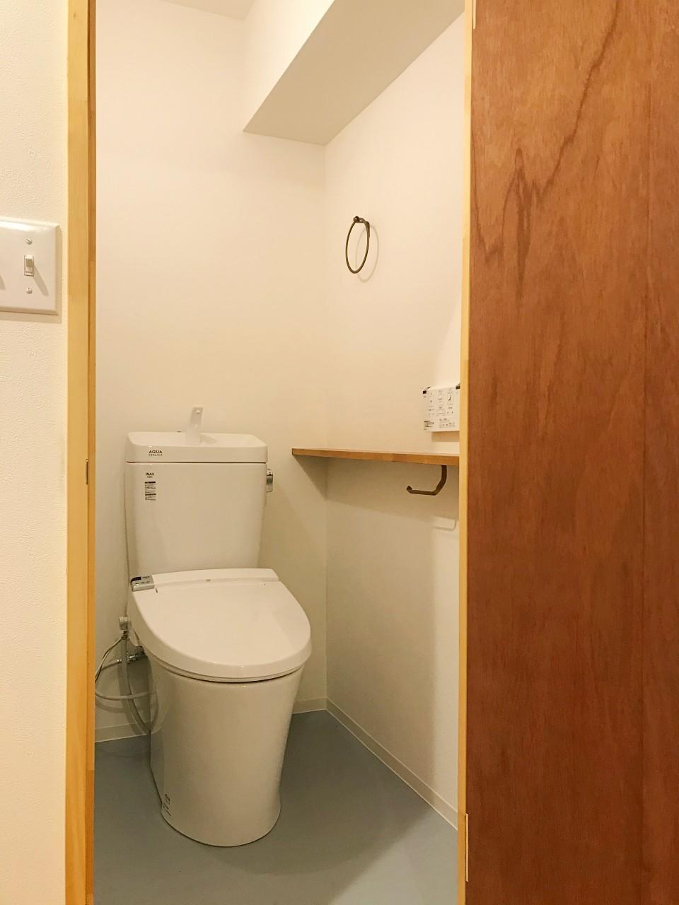 トイレはちゃんとしています