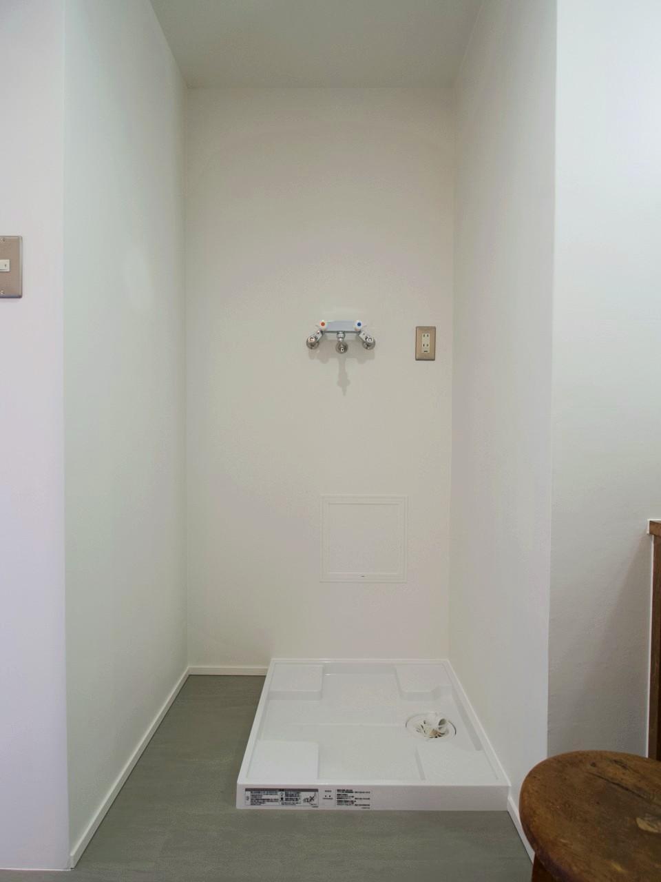 お湯も出るタイプの洗濯水栓