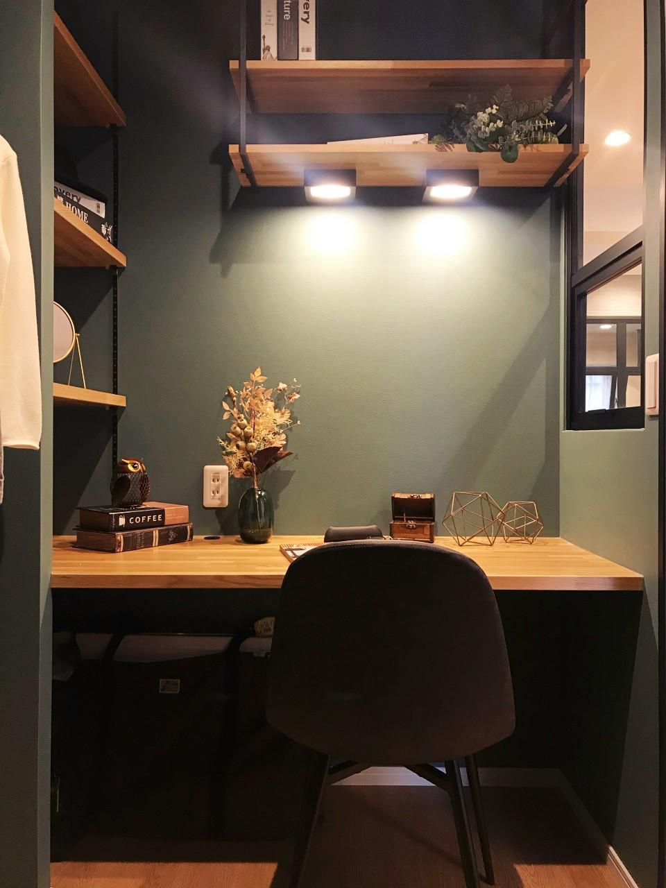 プライベートオフィス感いっぱいで素敵です