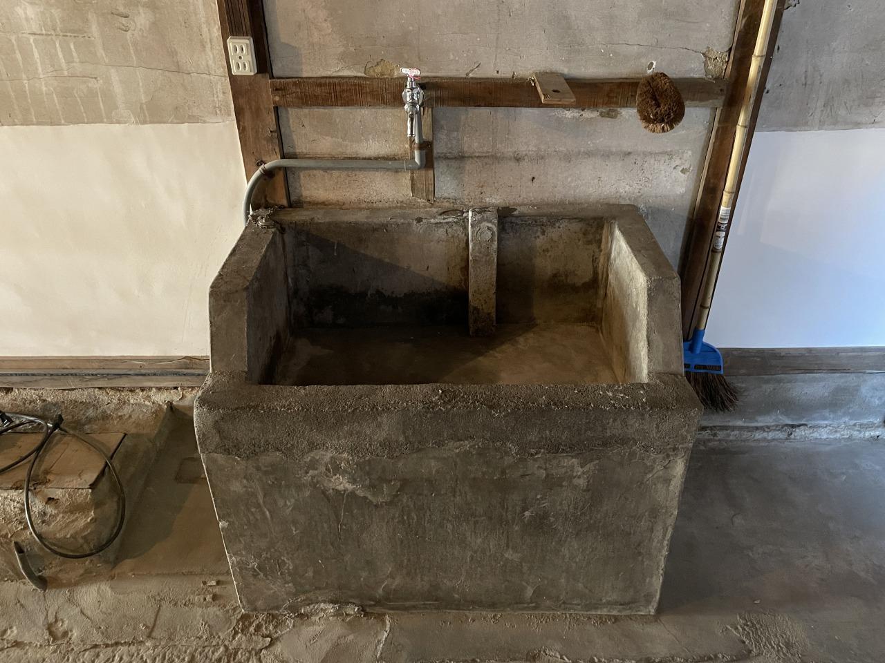 共用の手洗い場