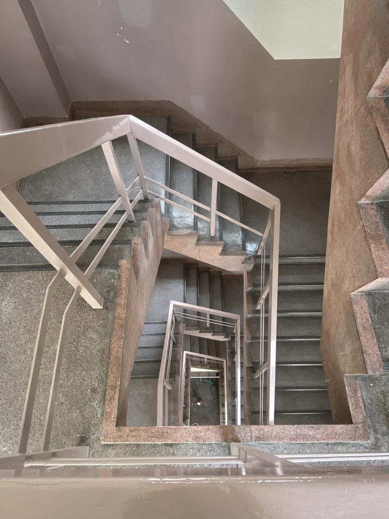 なんだか登りやすい気がする階段