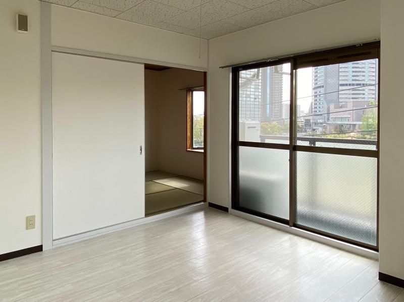 今回募集部屋では建具がなくなり、11帖の洋室に。