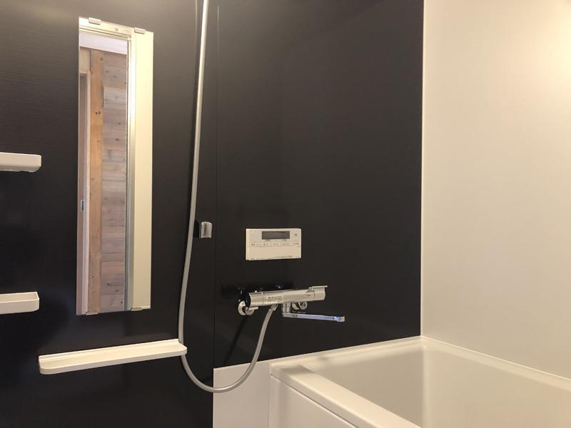 建物に浴室が追加されました。