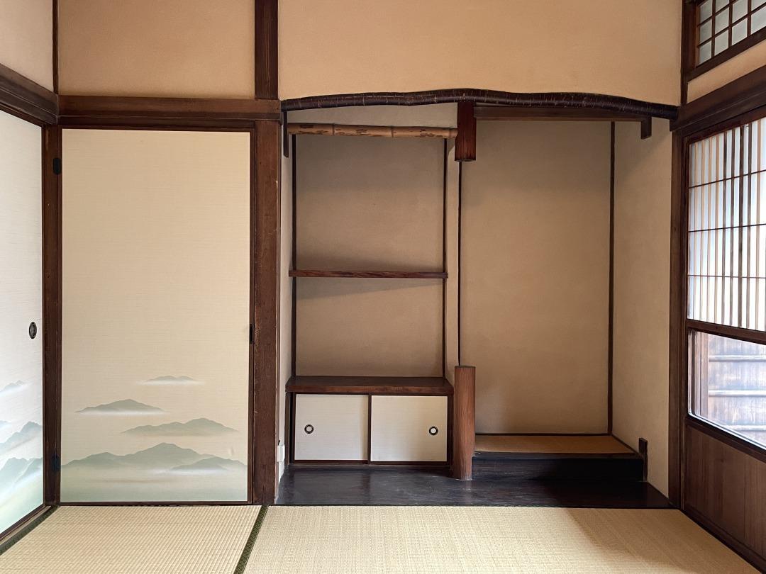 2階の和室、風情があります