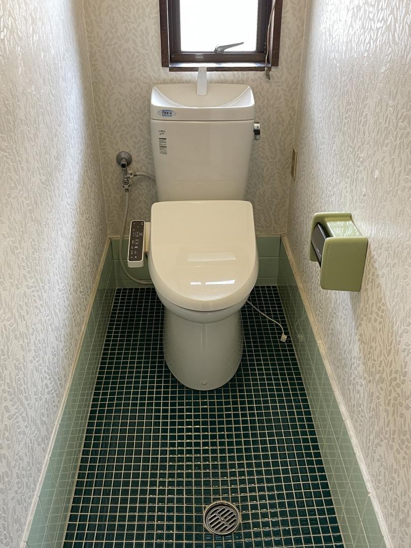 トイレも広々