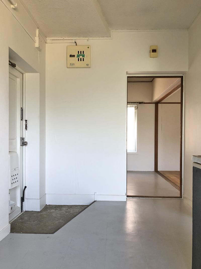 余裕のある玄関スペース