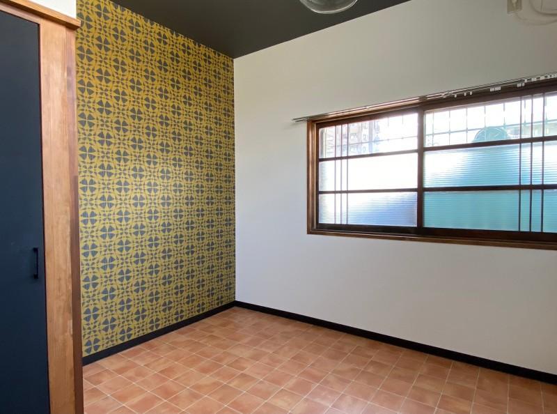201号室:コンパクトな5帖の洋室。ミニマムに暮らせます。