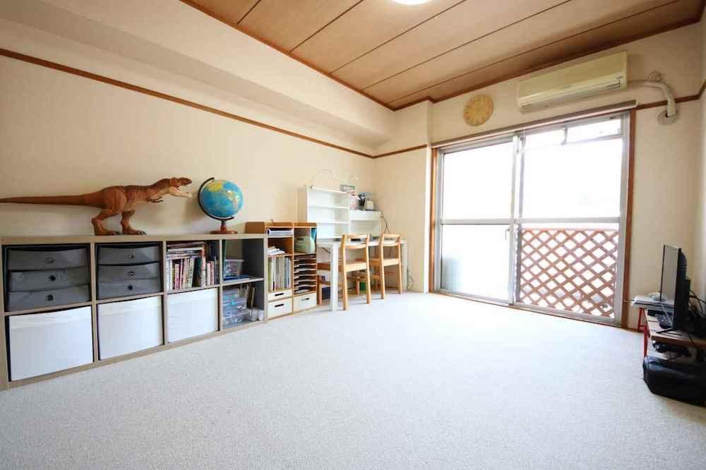 南側の居室部分。リビングと繋げて広い空間にするのもおすすめ。