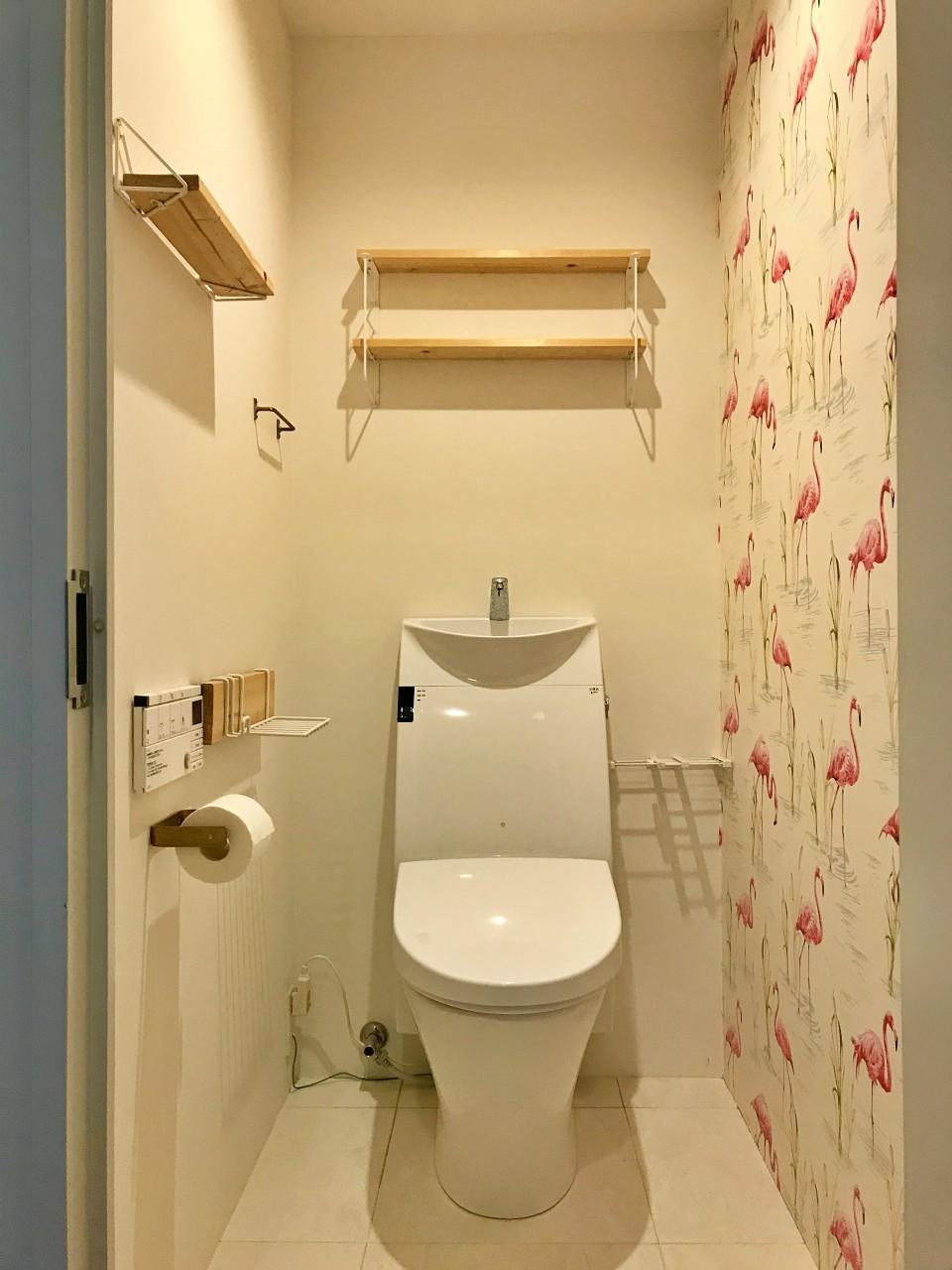 トイレはクロスがポイント