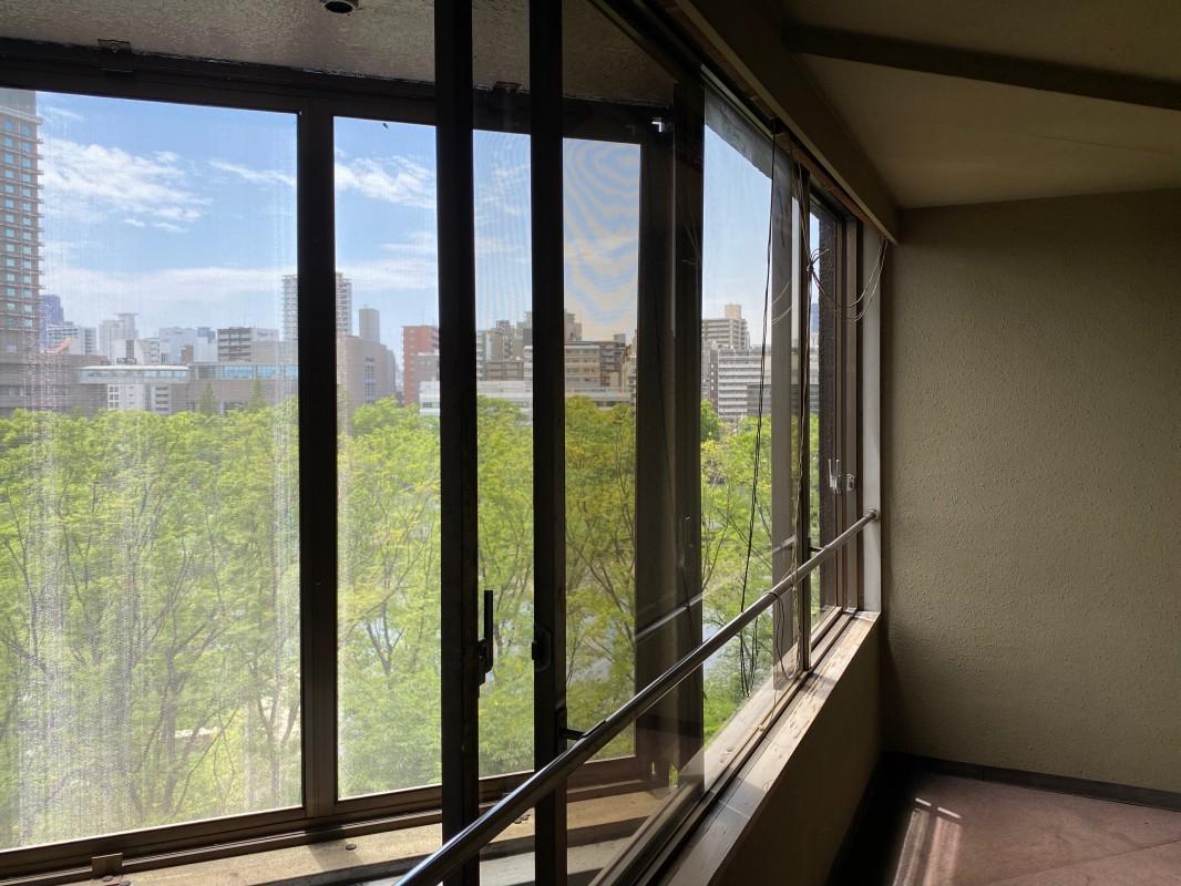 共用部からでも素敵な眺めが見られます。
