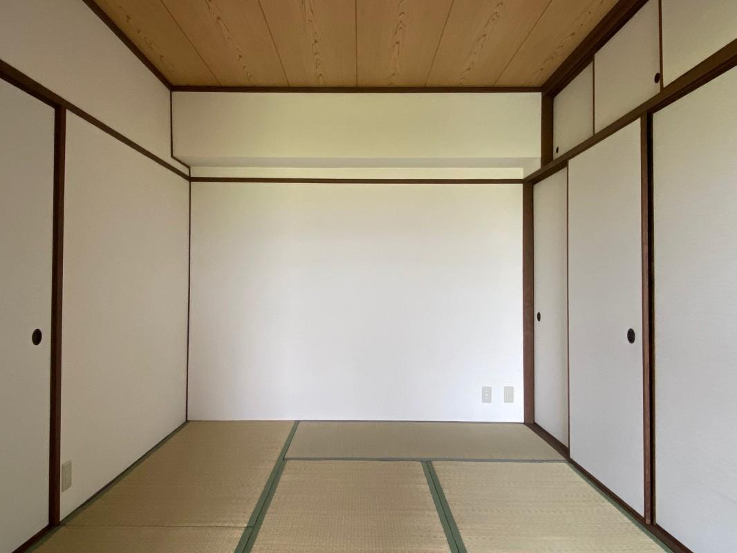 普通だとここが寝室。ベット派の方はリビングに配置しても良いかも。