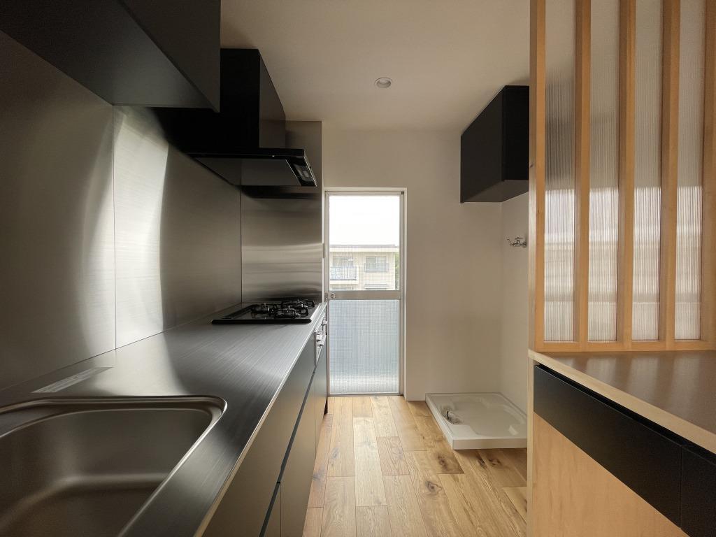 作業台が広いキッチン