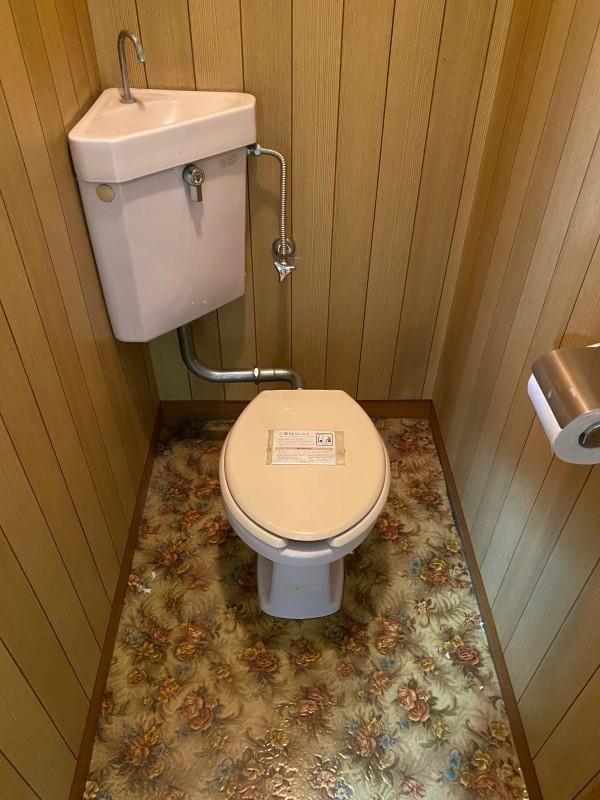 トイレ。洋式なのがありがたい。