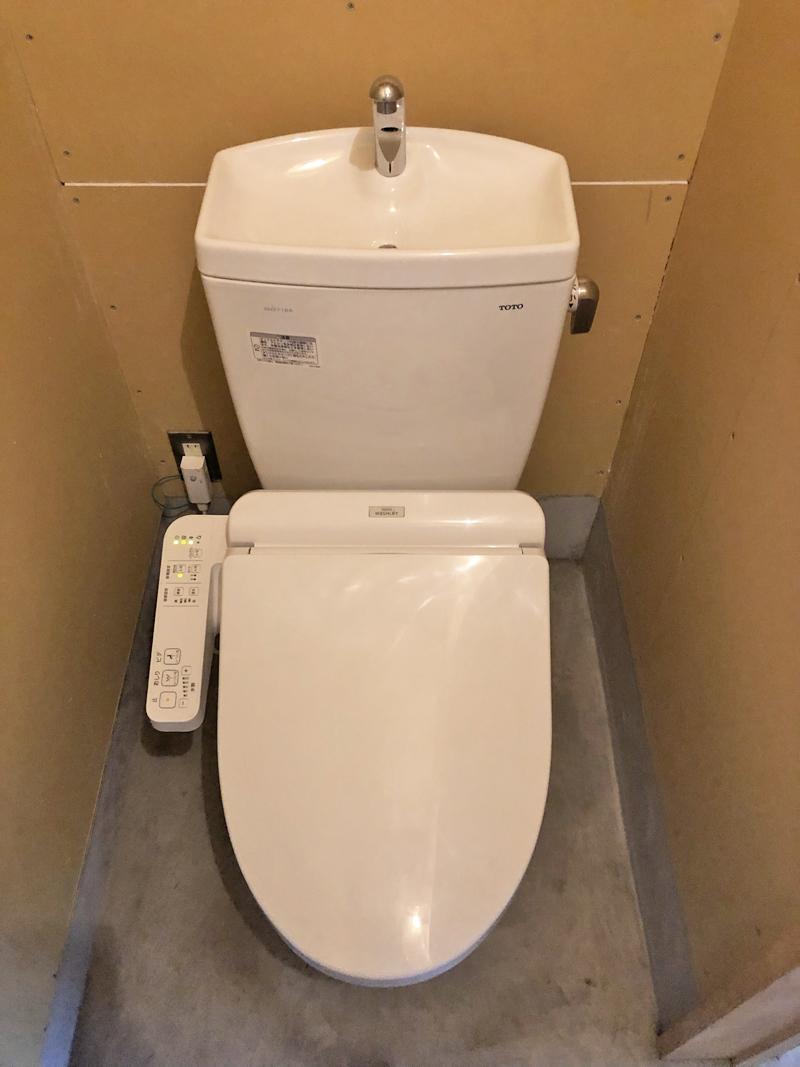 1階にトイレ有り