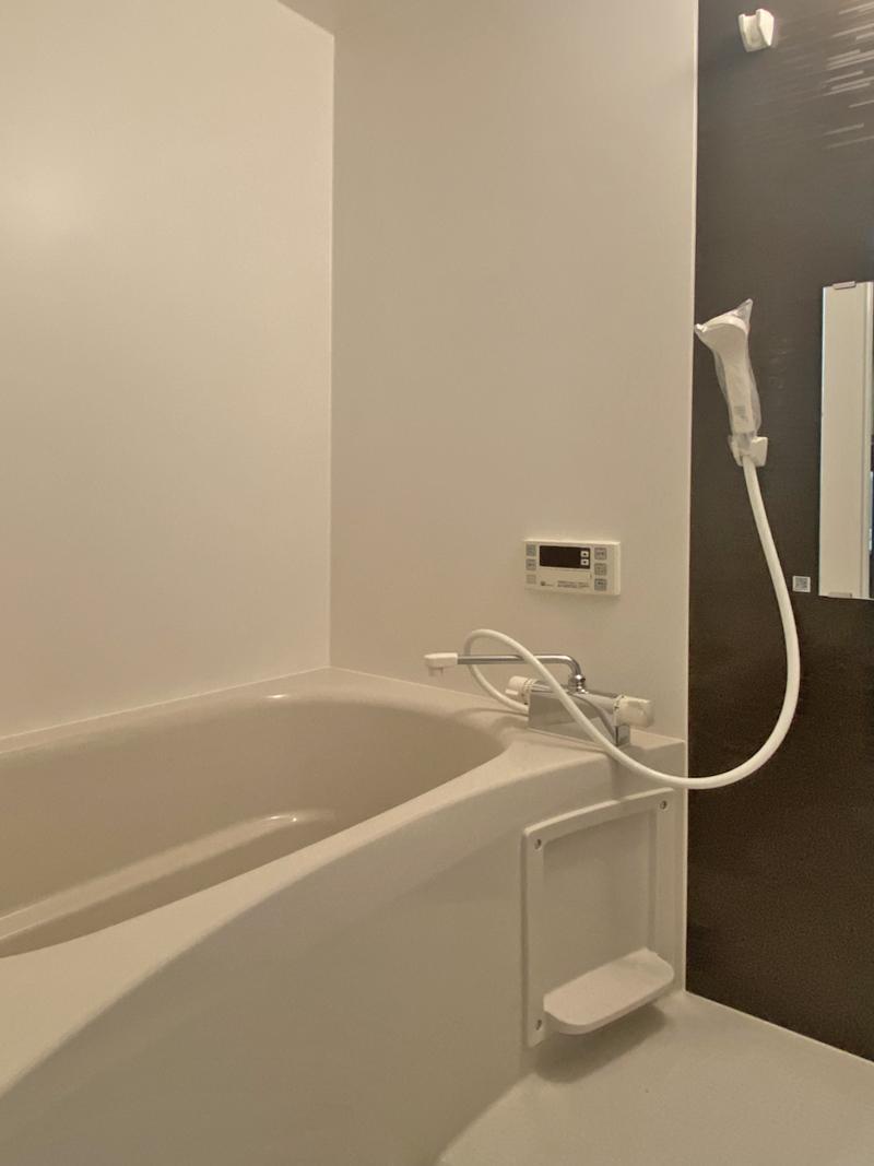 追い炊き機能がある浴室
