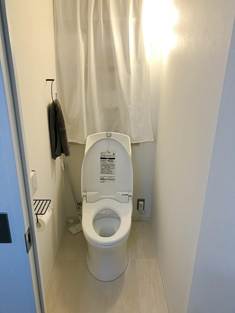 トイレも統一感のあるデザイン