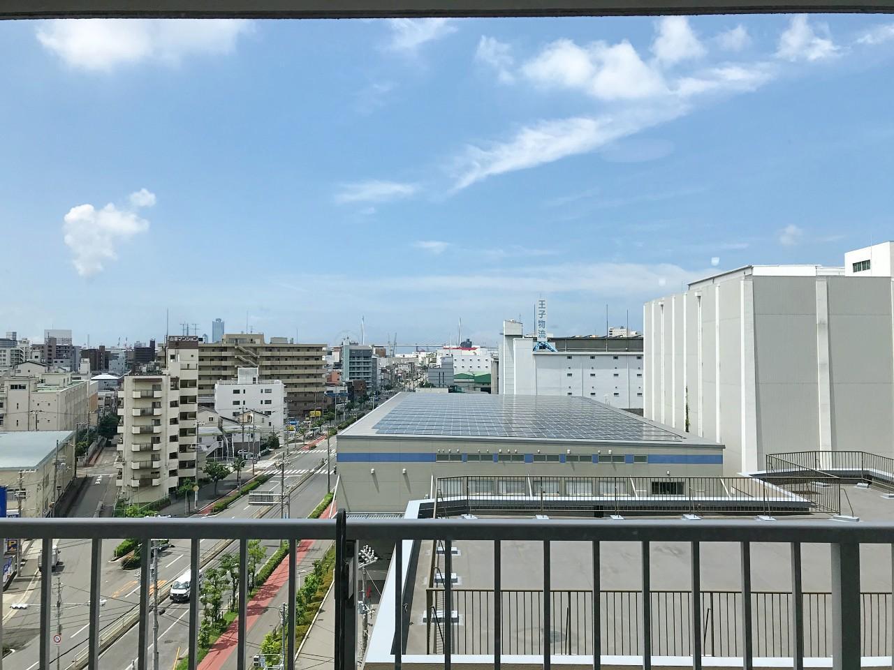高い建物のない、程よく抜けた眺望