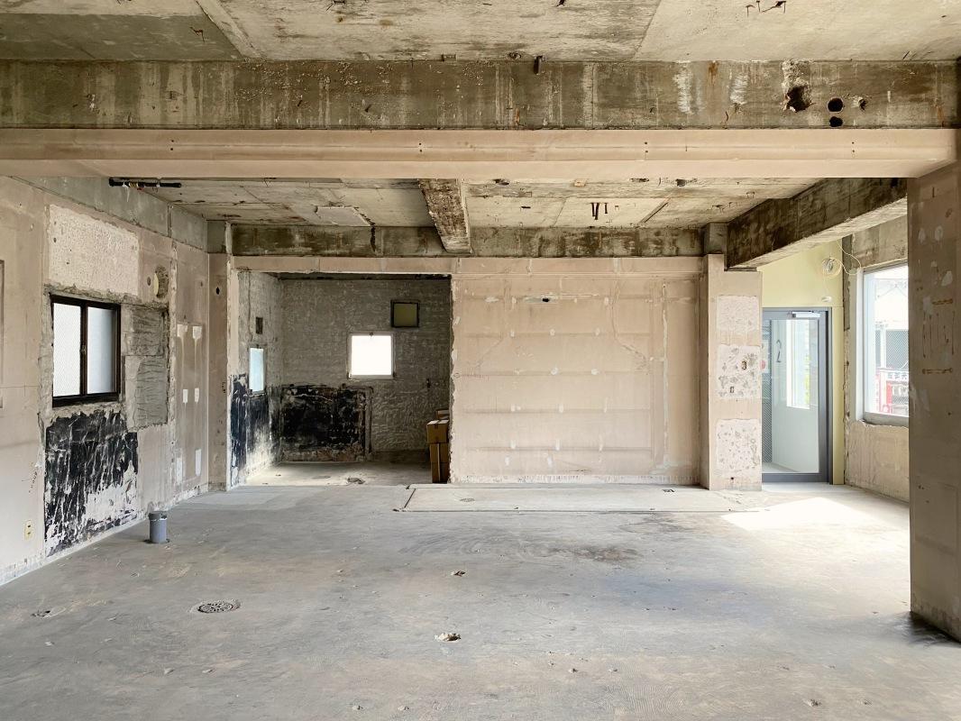 69.37平米と大きな区画(201号室)