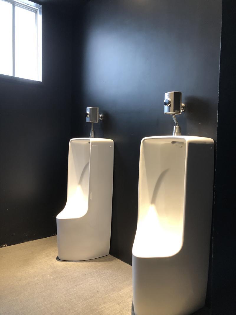 小便器が映える男子トイレ