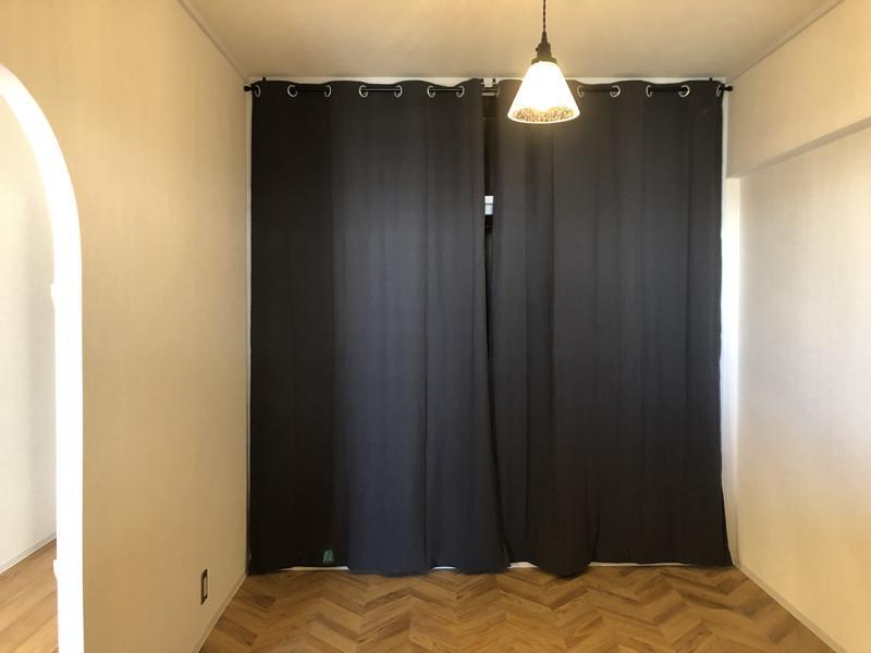 学校みたいなカーテン