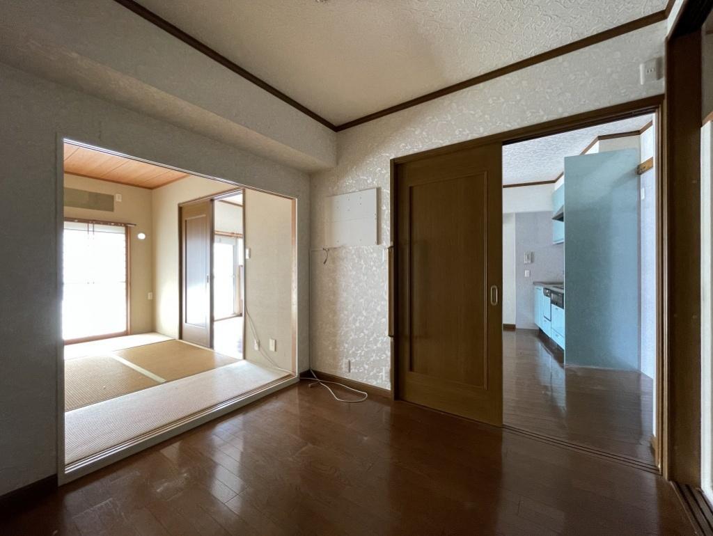 4.5帖の和室はフローリングに変わっています