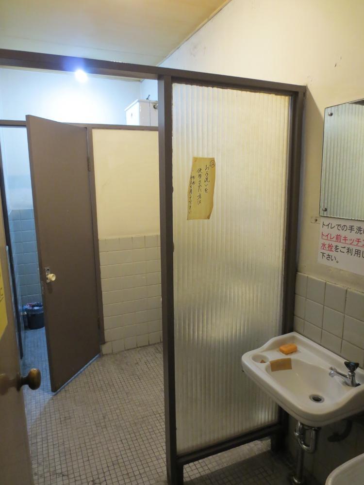 トイレは年季入ってます。あしからず。