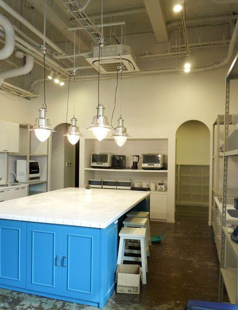 2階の共用キッチン