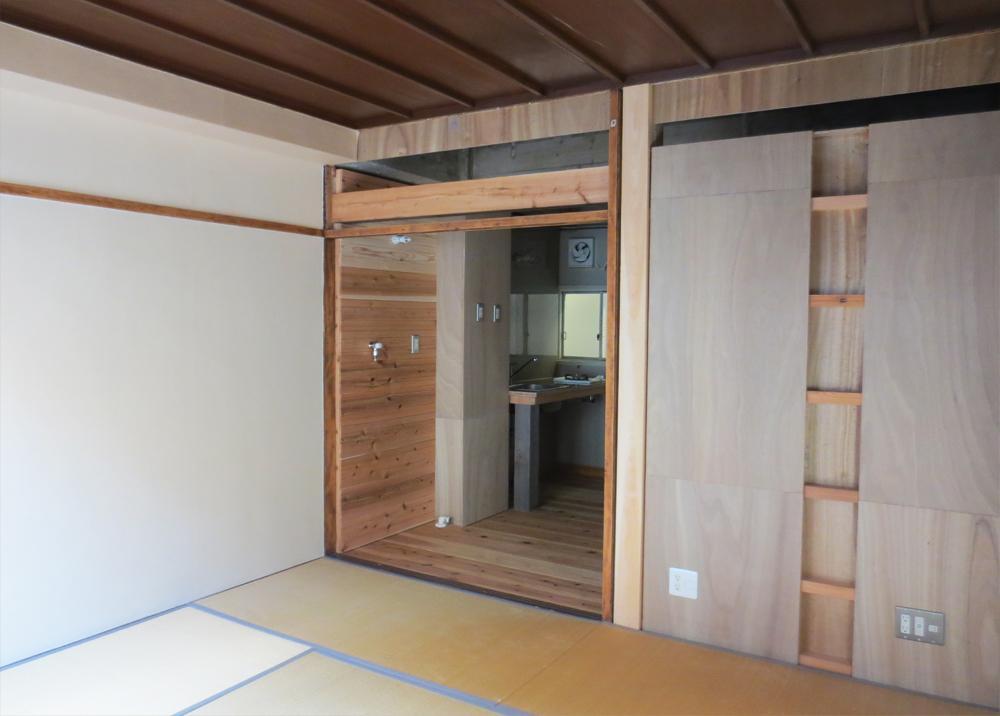 住居スペースは安定の完成度