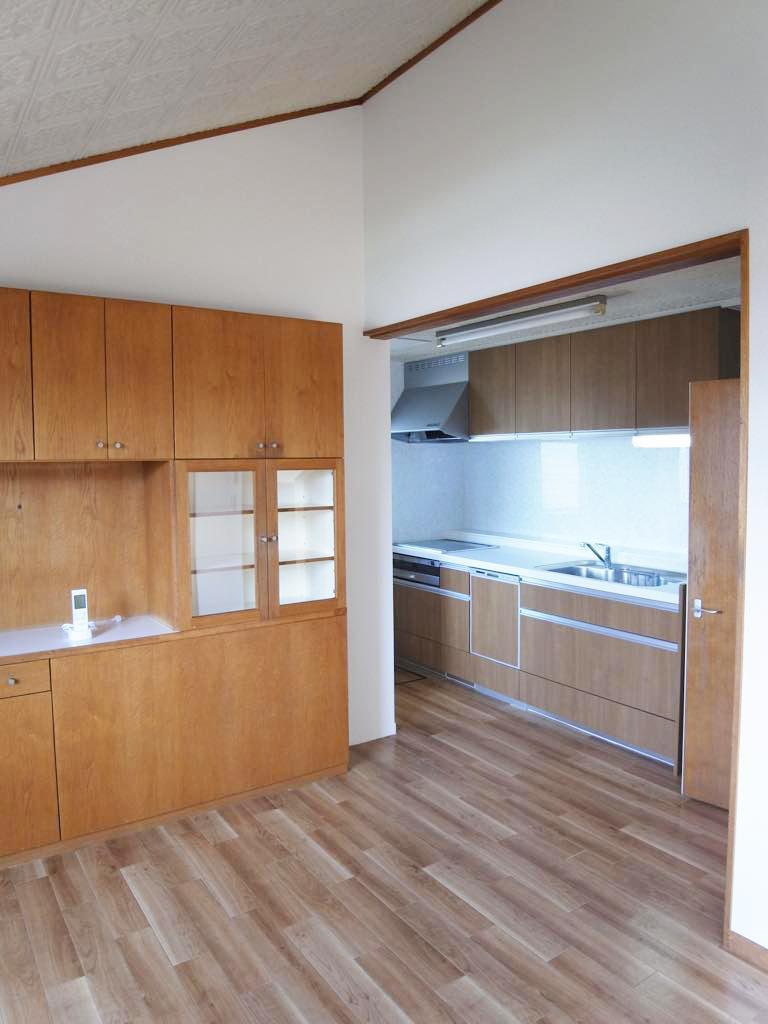 キッチン設備も充実。